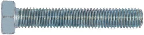 Stud bolt m10x25mm.galv.8.8 din933 (200 pieces)