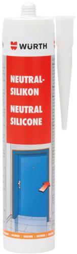 Silicone sealant neutral grey tube 310ml. (piece)