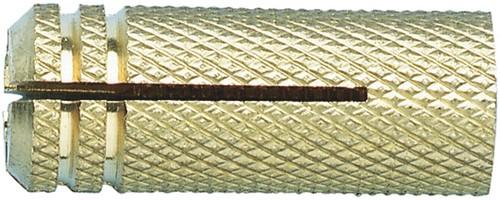 Plug M8 x 18 mm brass (100 pieces)