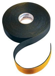 Insulationtape neutral 50mm Black (roll 15m)