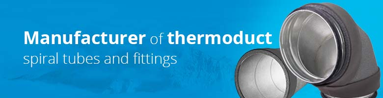 The thermoduct insulated spiral pipes are the perfect channels for every MVHR system.