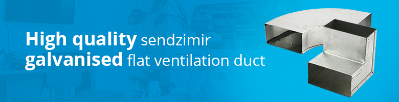 High-quality sendzimir galvanised inlet ducts can be purchased inexpensively from Ventilationand