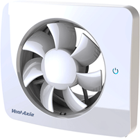 Bathroom fan Svensa PureAir with odour sensor (app-controlled)