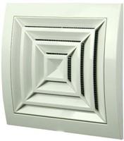 Ceiling diffuser plastic