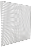 Ceiling diffusers perforated with top entry spigot for extract air