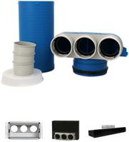 Uniflexplus 90 mm collectors