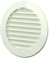 Impeller grille plastic round