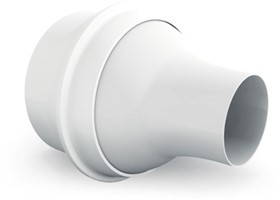 Jet diffusers for spiral pipe