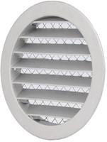 Outside air ventilation grilles aluminium