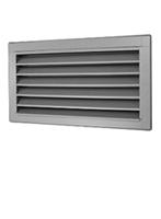 External wall ventilation grilles