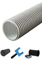 Uniflexplus 90 mm hoses and fittings