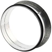 Spiral pipe 90° flat tap