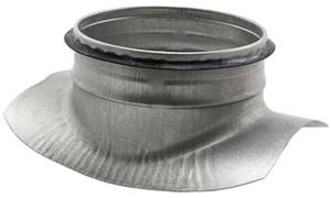 Spiral pipe 90° saddles
