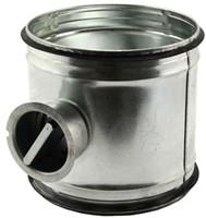 Spiral pipe manual control valve