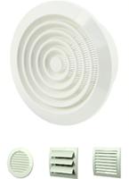 Various ventilation grilles plastic