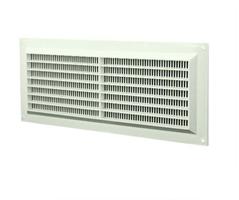 Ventilation grille plastic (rectangular with mesh)