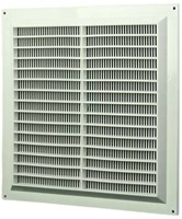 Ventilation grilles square with mesh