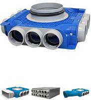 Uniflexplus 63 mm distribution boxes