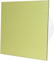 Advanced Bathroom fan gold aluminum