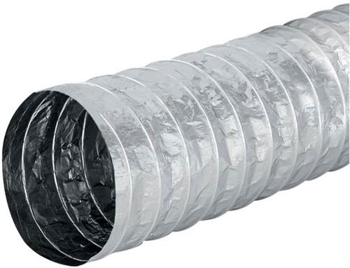 Aludec 100 mm uninsulated flexible hose (5 metres)