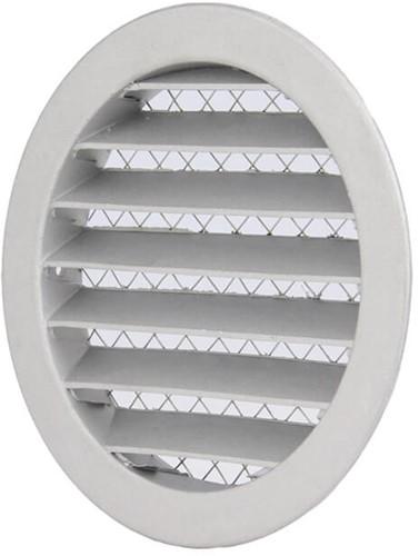 Aluminium external air wall grille Ø 125mm - MRA125