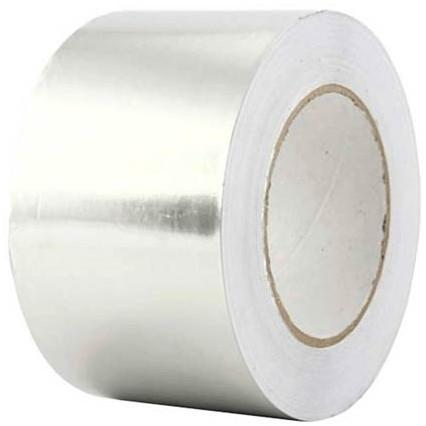 Aluminum tape 75mm (roll 50 m)