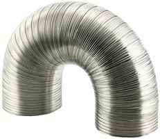 Aluminium semi-flexible (rigid) ventilation duct
