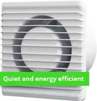 Bathroom fan planet energy (quiet and energy efficient)