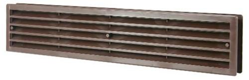 Door grille 450x92 brown - VR459B