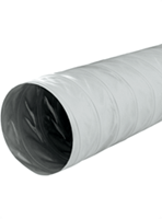 Greydec polyester ventilation hose Grey