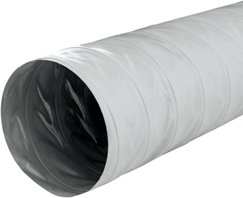 Greydec polyester ventilation hose Ø 185 mm grey (10 metres)