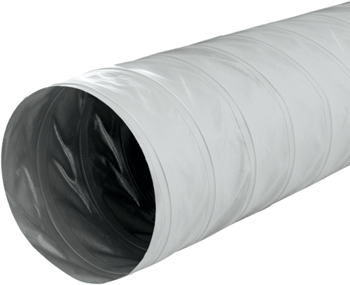 Greydec polyester ventilation hose Ø 203 mm grey (10 metres)