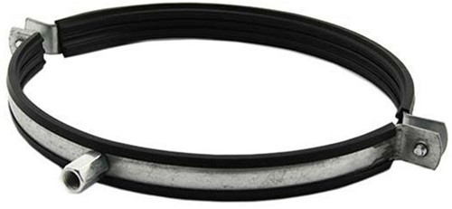 Suspension ring Ø 125mm with rubber - SBOU125
