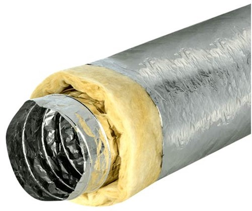 Isodec thermally insulated Ø102 mm ventilation hose (10 metres)