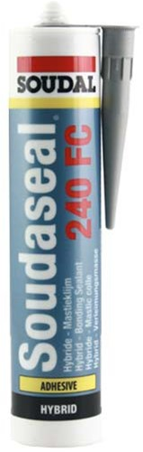 Adhesive sealant ms-polymer grey soudaseal 240fc tube 290ml. (piece)