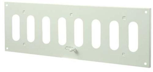 Metal adjustable rectangular slot diffuser 300x100 white - MR3010R