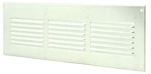 Metal ventilation grille rectangular 300x100 zinc - MR3010ZN