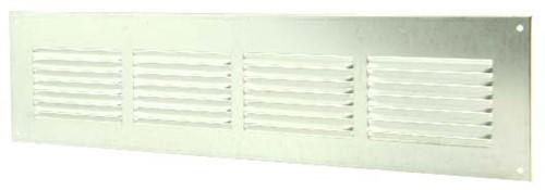 Metal ventilation grille rectangular 400x100 zinc - MR4010ZN