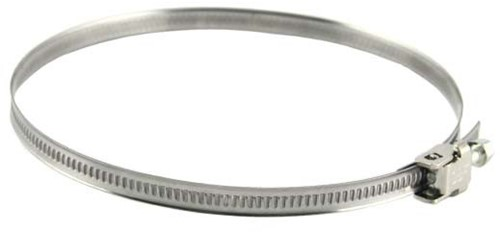 Stainless steel hose clamp Ø 60mm - 180mm