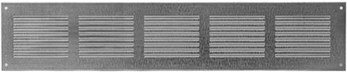 Metal ventilation grille rectangular 500x100 zinc - MR5010ZN