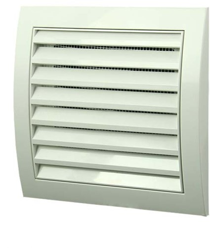 Wall grille 150x150 white - N10