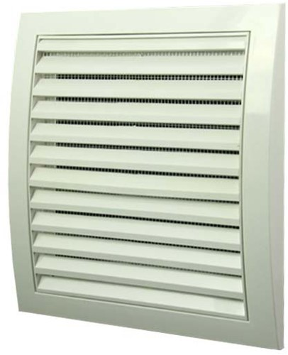 Wall grille 190x190 white - N12