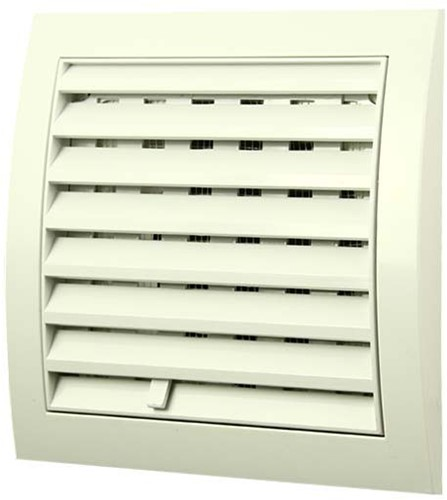 Wall grille adjustable 150x150 diameter: 100 white