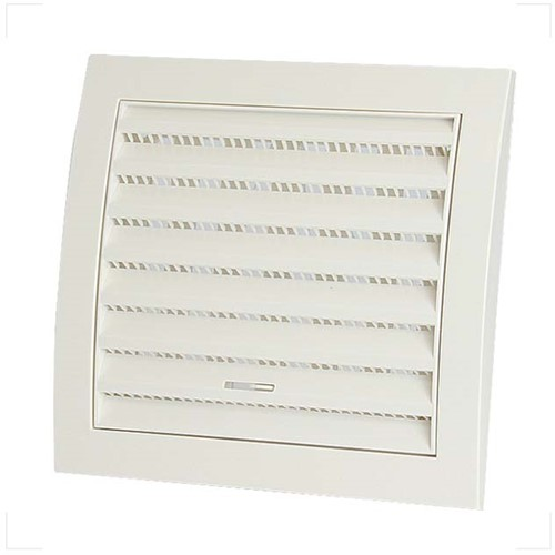 Wall grille adjustable 150x150 white