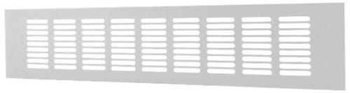 Skirting diffuser aluminium - white L=500mm x H=40mm -RA450