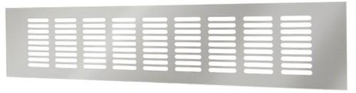 Skirting diffuser aluminium - silver L=500mm x H=100mm -RA1050S