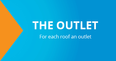 The outlet. For each roof an outlet