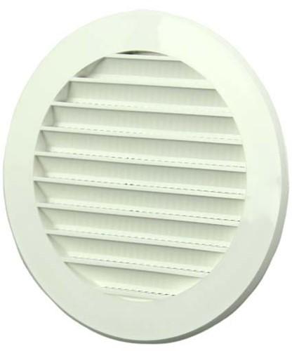 Vane grille diameter: 100mm white - VR100