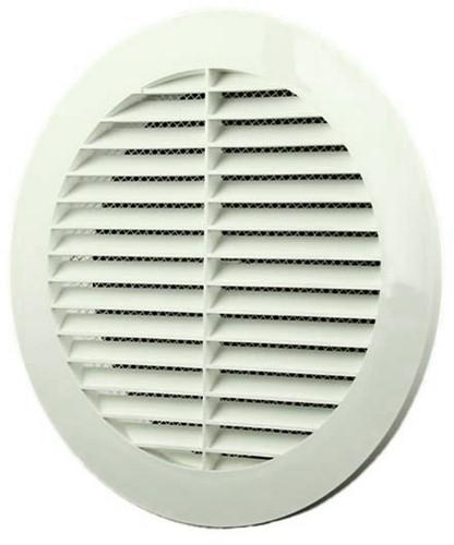 Vane grille diameter: 150mm white - VR150