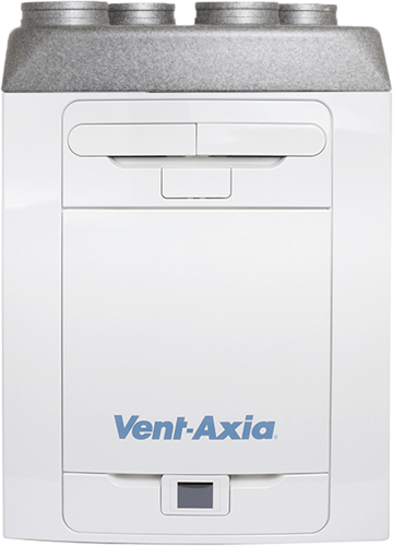 Vent-Axia MVHR Sentinel Kinetic Advance 350SX including preheater - left - 350m³/h